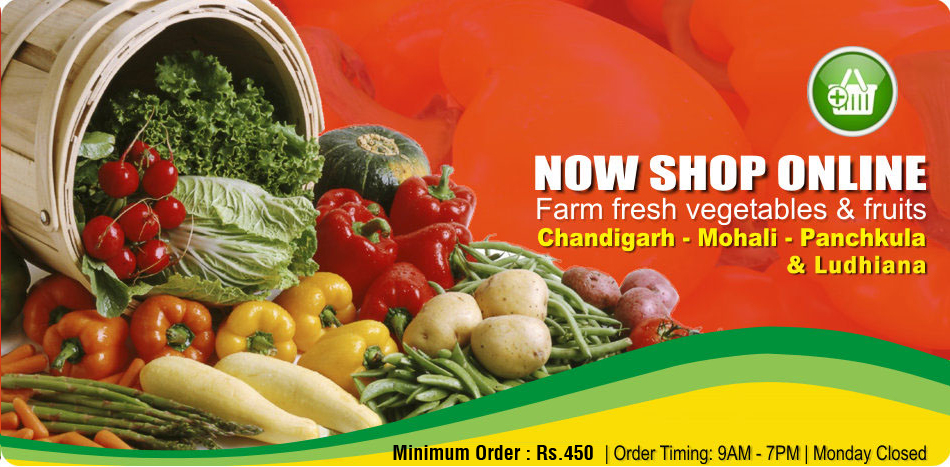 Shop Vegetable and Fruits at sabziwala