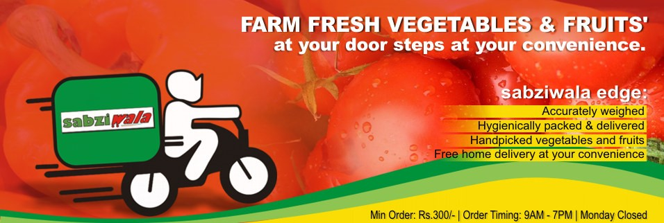 Farm Fresh Fruits and Vegetables at your door steps