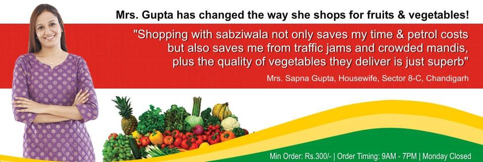 Mrs. Gupta has canged her way she shops